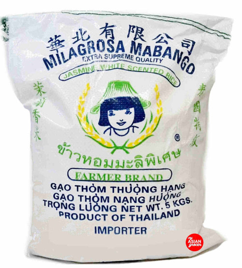 Farmer Brand Jasmine White Scented Rice 5kg