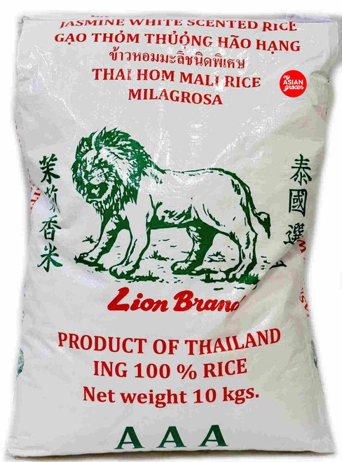 Lion Brand Jasmine White Scented Rice 10kg