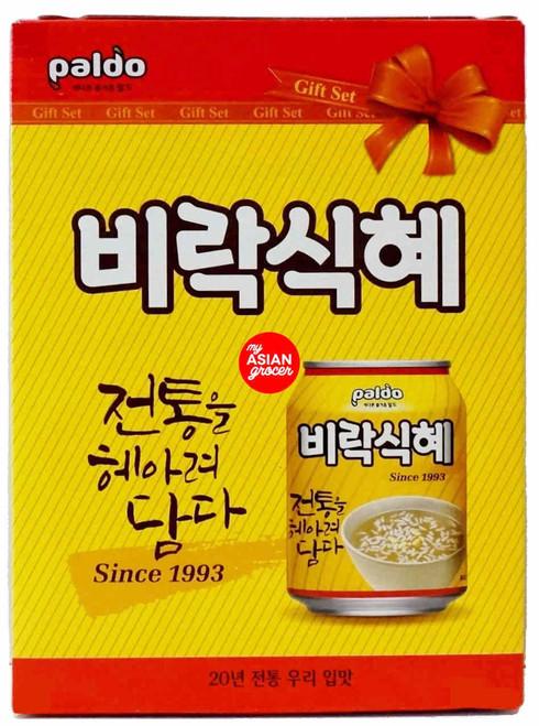 "Paldo Shikhye ""Rice Punch"" 238ml x 12 Can"