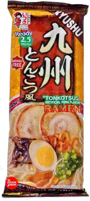 """Itsuki Kyushu """"Tonkotsu"""" Pork Flavor Ramen 174g"""