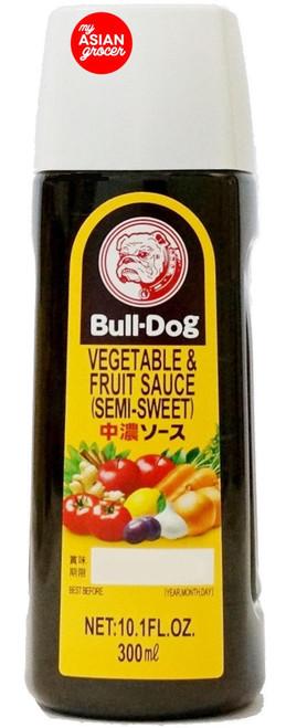 Bull-Dog Vegetable & Fruit Sauce (Semi-Sweet) 300ml