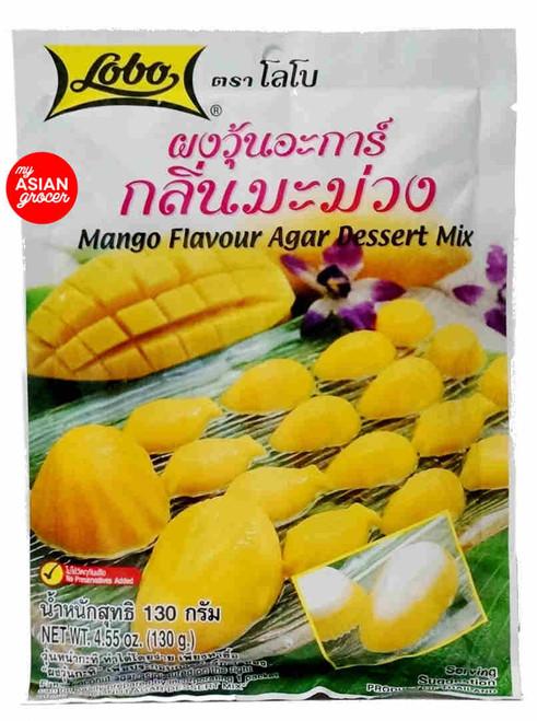 Lobo Mango Flavour Agar Dessert Mix 130g