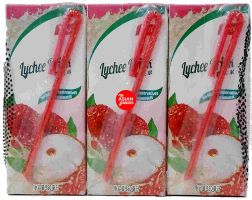 Yeo's Lychee Drink 250ml x 6