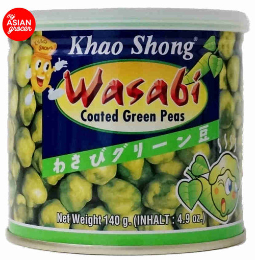 Khao Shong Wasabi Coated Green Peas 140g