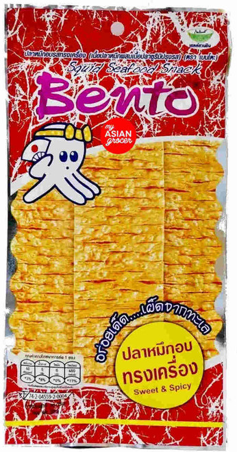 Bento Squid Seafood Snack Sweet & Spicy 20g