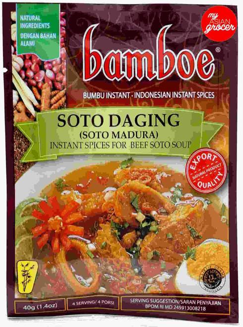 Bamboe Soto Daging (Soto Madura) 40g