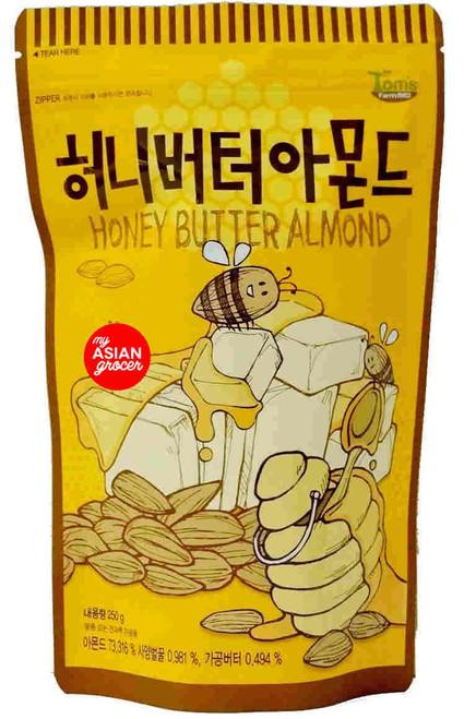 Tom's Farm1982 Honey Butter Almond 210g