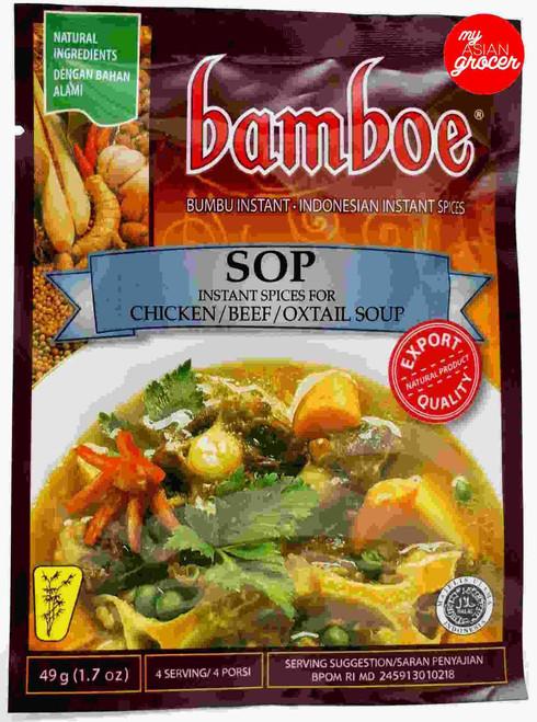 Bamboe Sop 49g