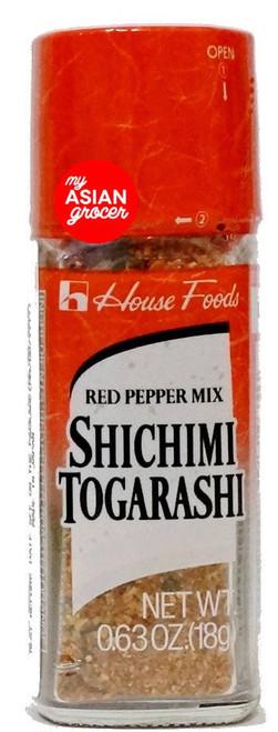 House Foods Shichimi Togarashi Red Pepper Mix 18g