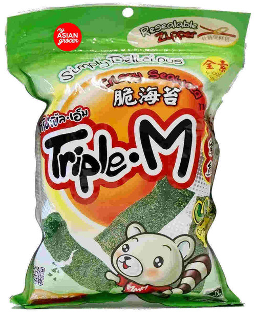 Triple M Crispy Seaweed 36g