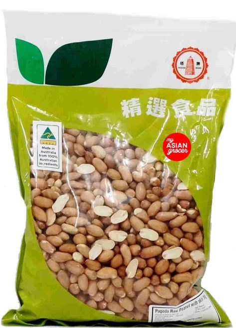 Pagoda Raw Peanut with Skin 1kg