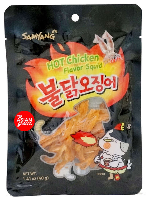 Samyang Hot Chicken Flavor Squid 40g