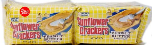 Croley Foods Sunflower Crackers Peanut Butter Sandwich 270g