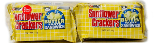 Croley Foods Sunflower Crackers Butter Taste Sandwich 270g