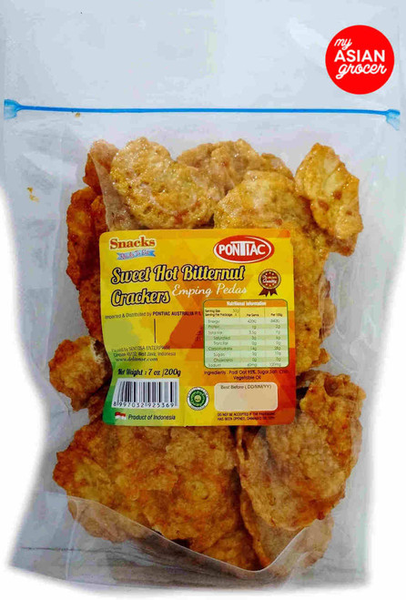 Pontiac Sweet Hot Bitternut Crackers 200g