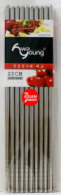 Hwa Young 23cm Chopsticks 10 Set
