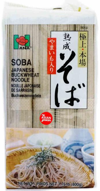 Hana Soba Japanese Buckwheat Noodle 800g