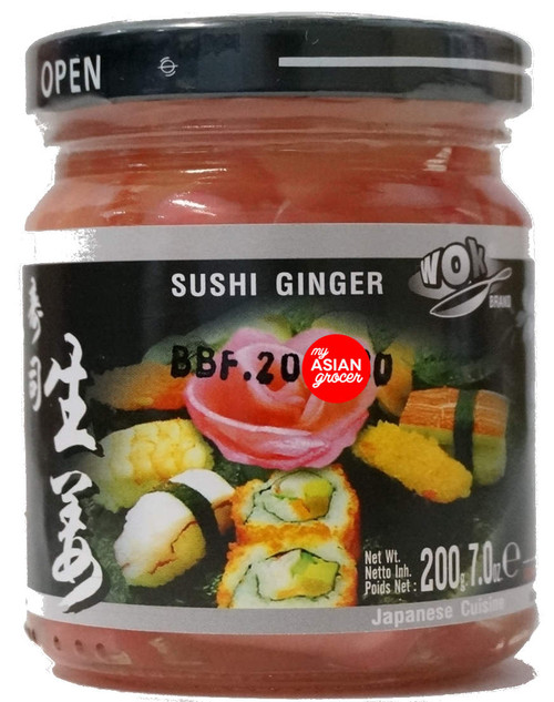 Wok Brand Sushi Ginger 200g