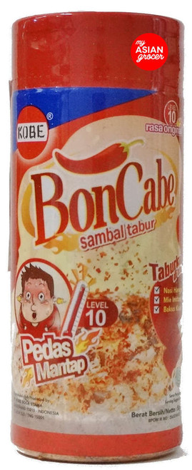 Kobe BonCabe Spicy Chili Sprinkle Level 10 Original 50g