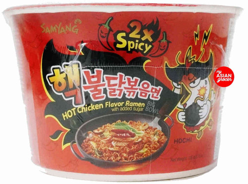 Samyang 2x Spicy Hot Chicken Flavor Ramen Big Bowl 105g