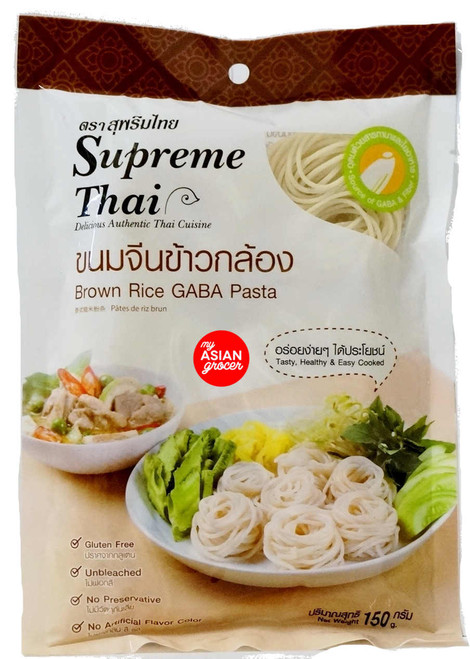 Supreme Thai Brown Rice GABA Pasta 150g