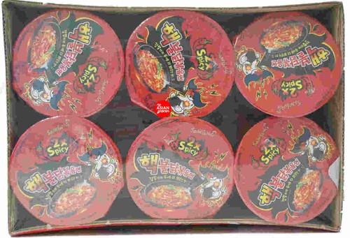 Samyang 2x Spicy Hot Chicken Flavor Ramen 70g x 6 Cup