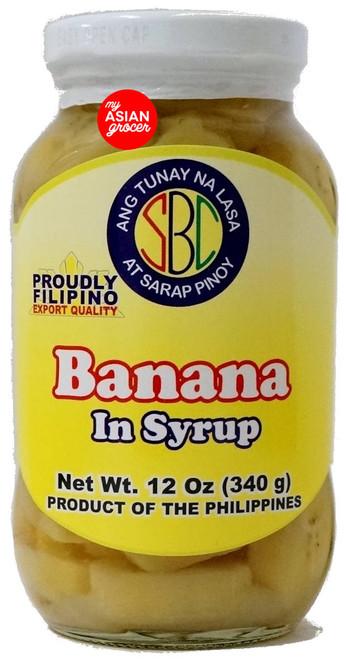 SBC Banana in Syrup 340g