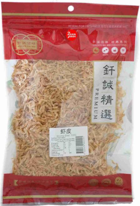 Golden Bai Wei Shrimp Shell 100g