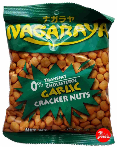 Nagaraya Brand Garlic Cracker Nuts 160g
