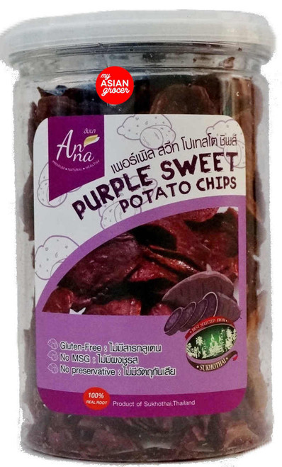Anna Purple Sweet Potato Chips 85g