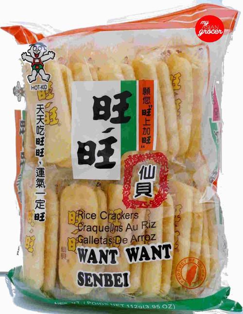 Hot-Kid Want Want Senbei 112g