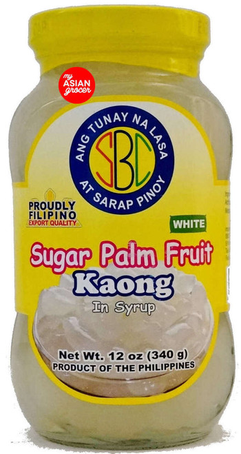 SBC Sugar Palm Fruit Kaong in Syrup 340g