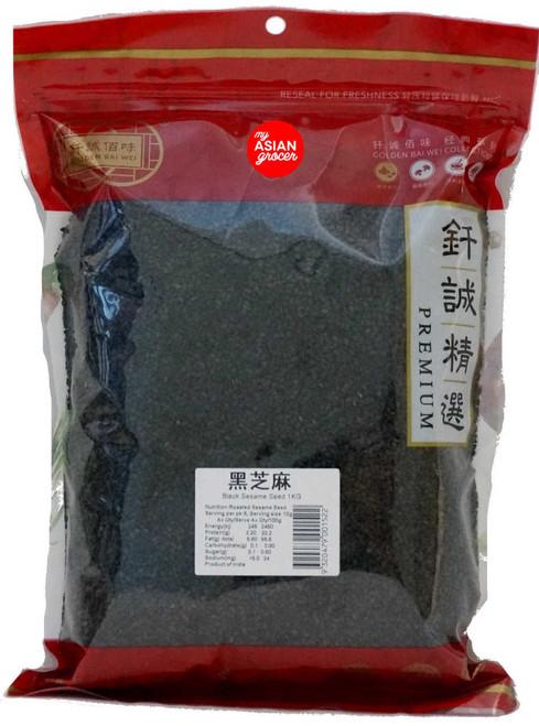 Golden Bai Wei Black Sesame Seed 1kg
