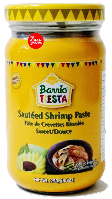 Barrio Fiesta Sauteed Shrimp Paste (Sweet) 250g