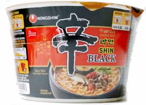 Nongshim Shin Black Premium Noodle Soup Bowl 101g