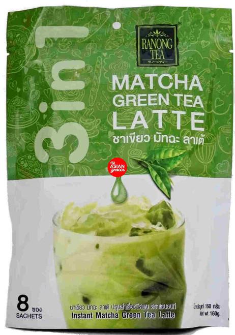Ranong Tea Matcha Green Tea Latte 160g