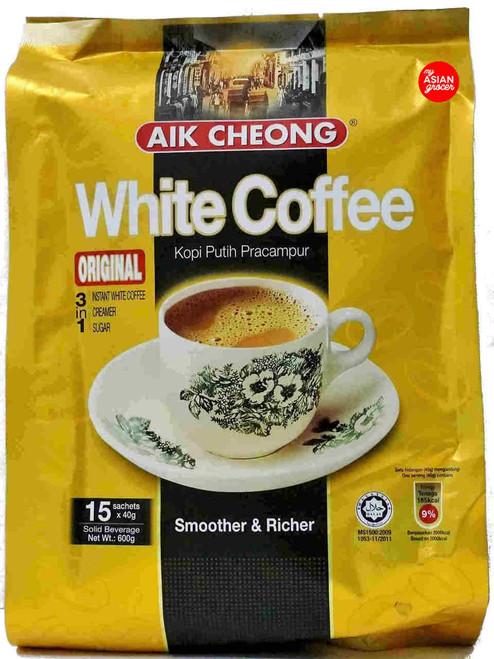 Aik Cheong 3 in 1 White Coffee Original 40g x 15 Sachets