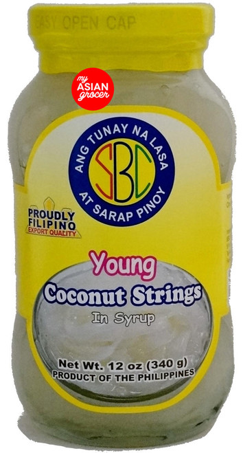 SBC Young Coconut Strings in Syrup 340g