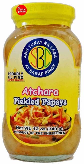 SBC Atchara Pickled Papaya 340g