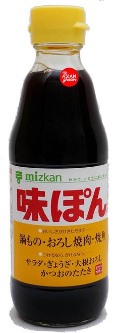 Mizkan Ajipon Citrus Seasoned Soy Sauce 360ml