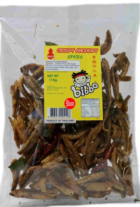Hulu Crispy Anchovy Spices 110g