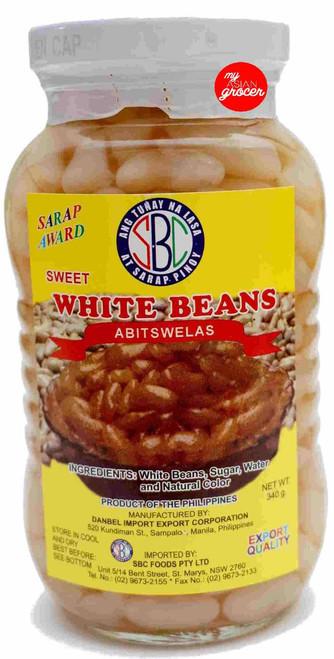 SBC Sweet White Beans 340g