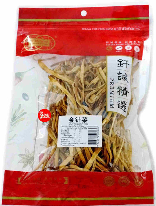 Golden Bai Wei Lily Flower 100g
