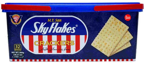 M.Y. San Skyflakes Crackers 800g
