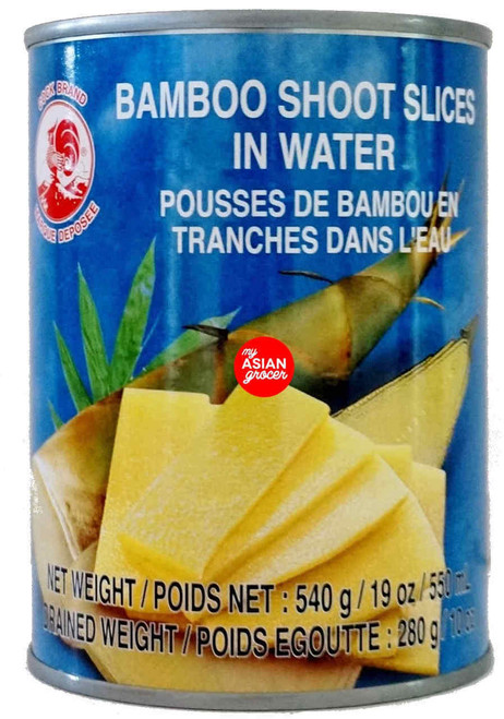 Cock Bamboo Shoot Slices in Water 540g