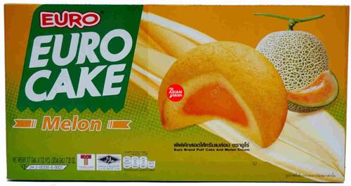 Euro Cake Melon 17g x 12 Pieces