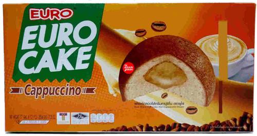 Euro Cake Cappuccino 17g x 12 Pieces
