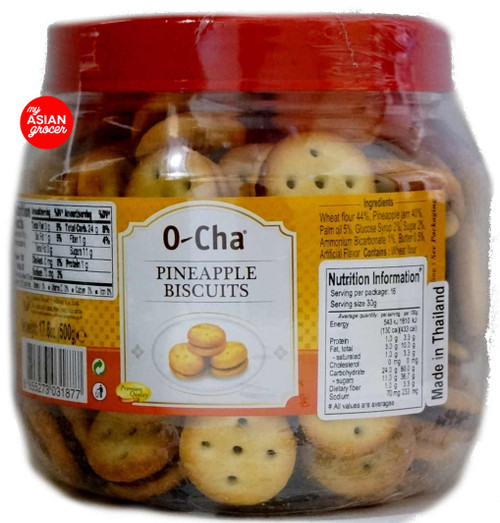 O-Cha Pineapple Biscuits 500g