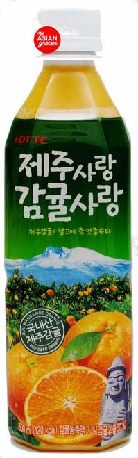 Lotte Jeju Mandarin Drink 500ml