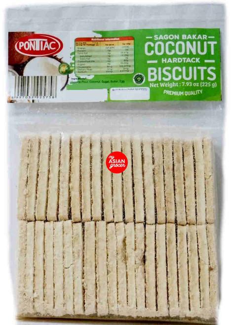 Pontiac Coconut Biscuits 225g